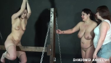 Sapphic Slapping And Extraordinary Restrain Bondage
