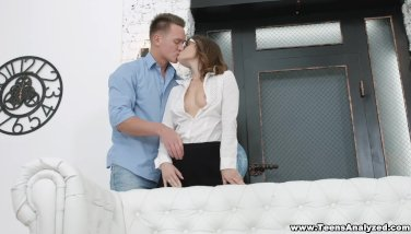 Ultra-cute Coed Booty-fucked By A Tutor