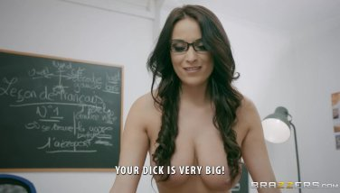 Insatiable French Teacher Anissa Kate Likes Anal Invasion  Brazzers