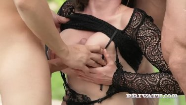Personal Com  Yasmin Scotts Very First Double Penetration