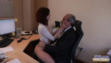 I Am A Youthfull Assistant Seducing My Manager At The Office Pleading For Hump
