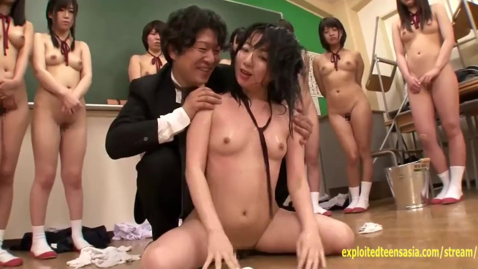 Jav College Girls Made To Hellion Classmate By Kinky Teacher Head Shoved  (14:00) - Letmejerk.com